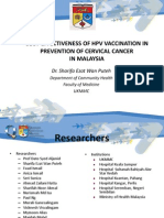 06_Cost-Effectiveness Study of Hpv Vaccination in the Prevention of Cervical Cancer
