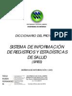 Diccionario Proyecto SIRES (TP-335-2012-1) (Primer Momento)