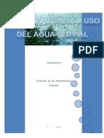 DETERMINACIÓN DE USO DEL  AGUA PLUVIAL 1