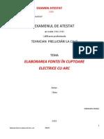Tehnician Prelucrari La Cald_atestate