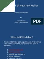 BNY Mellon Presentation