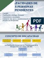 Discapacidades de Las Personas Dependientes
