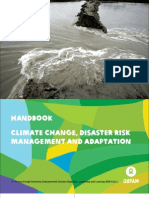 Handbook- Climate Change, Disaster Risk Management and Adaptation (English)