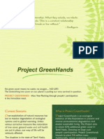 Project Green Hands Brochure