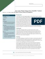 John Lewis and Cisco Virtual Fashion Mirror Case Study