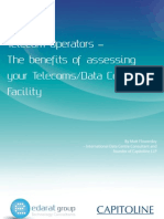 Telecom Operators – The benefits of assessing your Telecoms - Data Center Facility