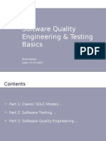 Software Quality Engineering & Testing Basics - Belal Raslan