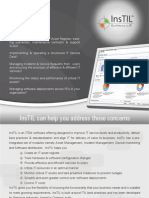 InsTIL asset management and service desk tool brochure
