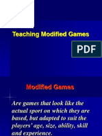 Modified Games