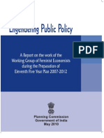 Engendering Public Policy
