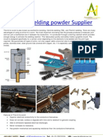 Thermite Welding Powder Supplier