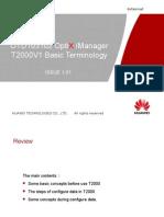 OTD103102 OptiX iManager T2000V1 Basic Terminology ISSUE1.01