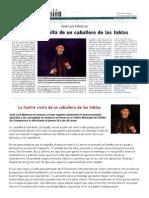 2006-01-26 La Discusion (Chile) La ilustre visita de un caballero de las tablas