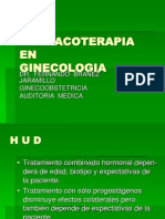 FARMACOTERAPIA EN GINECOLOGÍA