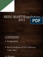 SEBI (SAST)Regulation 2011