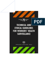 Technical and Ethical Guidelines Wcms_177384 ILO