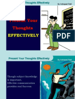 Present Your Thoughts Effectively