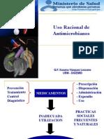 USO RACIONAL DE MEDICAMENTOS - PUNTO DE VISTA DEL QUIMICO FAMACÉUTICO
