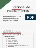 USO RACIONAL DE MEDICAMENTOS - PUNTO DE VISTA MÉDICO