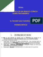 LECTURA CRÍTICA DE UN ENSAYO CLÍNICO SOBRE TRATAMIENTO