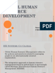 Global Human Resource Devrlopment