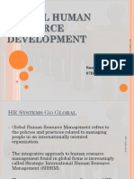 Global Human Resource Devrlopment