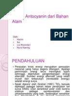 Isolasi Antocyanin Dari Bahan Alam,,,,,,,,,,,,