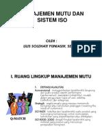 Manajemen Mutu Dan Sistem Iso 11
