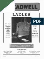 Design of Ladle
