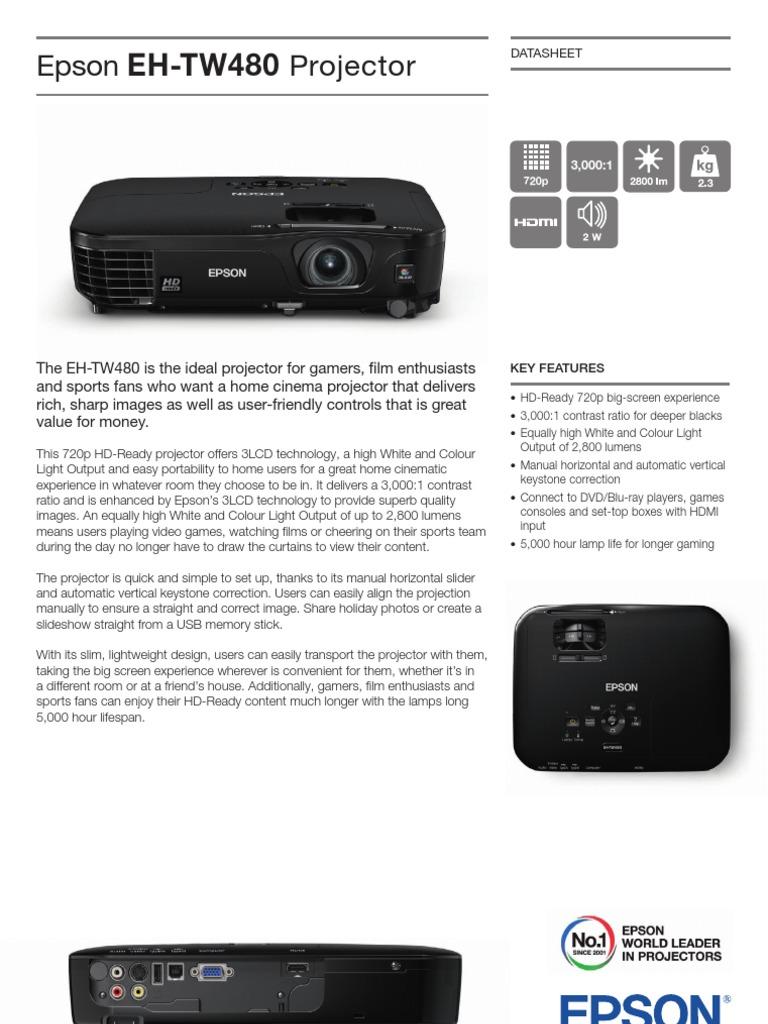 Epson EH TW480 Brochures 2   Video   Rgb Color Model