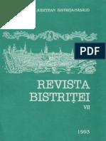 Revista Bistritei VII 1993