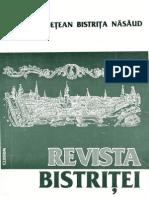 Revista Bistritei XII XIII 1999