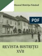 Revista Bistritei XVII 2003