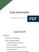 Case Summaries
