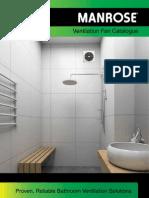Manrose Vent Axia Ventilation Fan Catalogue
