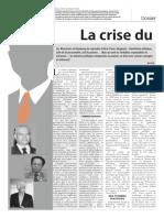 La crise du leadership politique