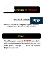 English Language in Malaysia
