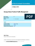 Item 8-1.11 George Street Festival Traffic Management