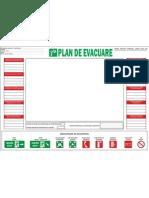 Plan de Evacuare in Caz de Incendiu Model Cadru Din Anexa Nr 2 La OMAI Nr 163 2007