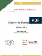 Dossier Du Participant - Fran-Ais