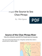 From the Source to Sea- Chao Phraya River - Humanities