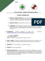CIRCULAR 1-13  II  DESAFÍO CORDOBÉS 2013