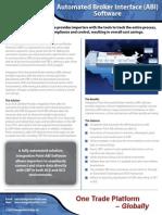 IntegrationPoint ProductBrochure ABI 2013