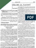 Ley de Ordenacion de Solares 15 Mayo 1945