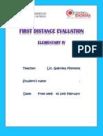 1 Examen a Distancia Elem IV