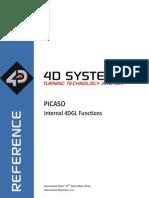 Datenblatt PICASO 4DGL Internal Functions REV6.2