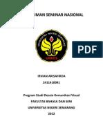 Rangkuman Seminar Nasional