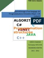 Cours Informatique C#