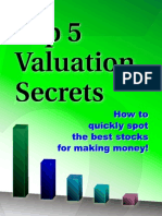 Top 5 Valuation Secrets