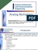 Analog Multiplier s